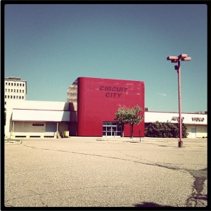 Closed Circuit City Store, Roseville, MN