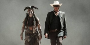 The Lone Ranger - Johnny Depp & Armie Hammer