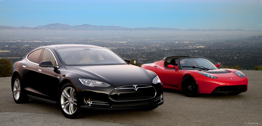 Tesla Cars - Model S & Roadster